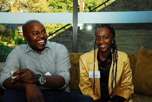 Mxolisi Hlatshwayo (Asanza Group)Tshepiso Ramela (Rebamoratiwa)