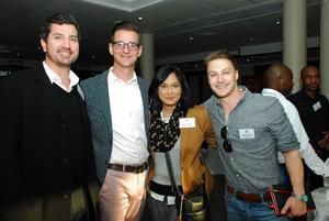Bennum van Jaarsveld, Gerri Botha, Linda Moodley (Redefine) Dillon warren (Brand Cartel)