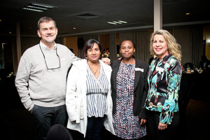 Tindall Kruger, Kerusha Ramdeen, Pumla Jali, Hermien Wright (McDonalds SA)