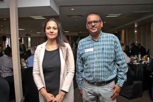 Zaiub Motala, Ally Abdool (JLR Services & Warehousing)