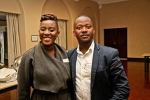 Siphumelele Khuzwayo (Broll), and Philani  Sidinile (Sizovuna Property Fund)