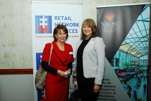 Sharon Herbst (Retail Network Services) Lenie Hertz (Absa)