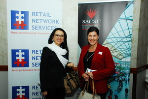 Luciana Popa (Melrose Arch) Crizelle Blokpoel (Investec BanK)