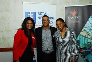 Wendy Ngomane, Jeremy Chetty, Jabu  Ngcobo (Nedbank)