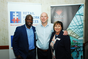 Trust Masarirambi (Primedia Outdoor) Mark langley (Growthpoint) Diane Bolton (Mall of Africa)