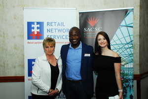 Marietjie van Deventer(Retail Network Services) Trust Masarirambi, Aileen Rodel (Primedia Outdoor)