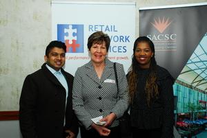 Vishal Ramphal (SACSC) Ina Lopion (Vukile) Audrey Nkunzi (SACSC)