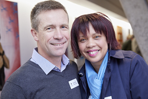 David Falck (Growthpoint Properties), Anthea Oostendorf (Word for Word Marketing)