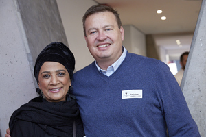 Faizah Behardien (Cushman & Wakefield Excellerate), Gavin Jones (Growthpoint Properties)