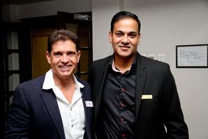 Craig Coetzee (Spar) Akash Maharaj( CW Excellerate)