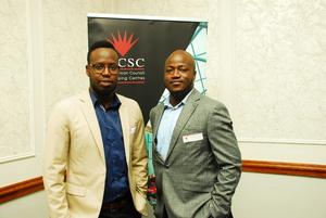 Jayson Mulaudzi (Redefine) Trust Masarirambi (Primedia Outdoor)