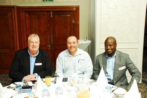Derek Morris (Skidata) DeVilliers Botha (Solareff)  Trust Masarirambi (Primedia Outdoor)