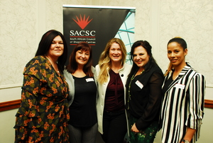 Laetitia Zillen (Redefine) Rochele de Canha, Petra Foord (East Rand Mall) Louise Olivier, Carol Lee Payne ( C W Excellerate)
