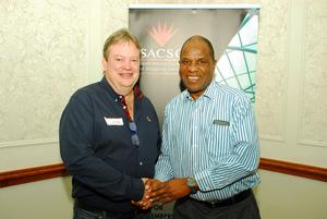 Gavin Tagg (Retail Network Services) Mike Nkuna (Masingita Group)