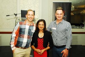 Nick Scott(White Wash Marketing), Devi Sankaree Govender(Carte Blannche), Kevin Scott (White Wash Marketing)