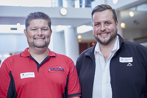 Gavin Vermaak (Actek) Anton Neveling (Hub Parking Technology)