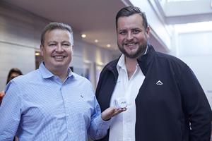 Gavin Jones (Growthpoint) Anton Neveling (Hub Parking Technology)
