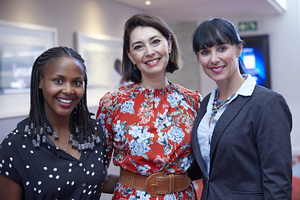 Amanda Dilima (V & A Waterfront) Jewel Harris (Growthpoint) Liezel Conradie ( C W Excellerate)