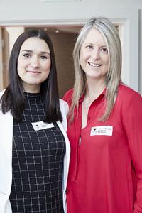 Stephanie Mort, Diana Wibberley (Capital Land Management)