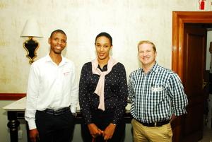 Mbuso Mashinini (lizhakandila Investment Property)Leandre Phillips (PIC) Paul Baggot (GVK Siya Zama)