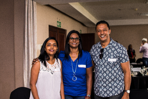 Sancia Naidoo, Linda Dorsamy, Courtney Rampaul (Mr Price Group)
