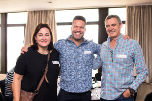 Jeanine Brown (Rokwil) Ryan Ackerman, (Mr Price Group) Phillip Dreyer (Power Fashion)