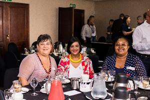 Cheryl van Niekerk, Lorentha Covenden, (Absa) Gugu Dlamini (Sizovuna Investments)