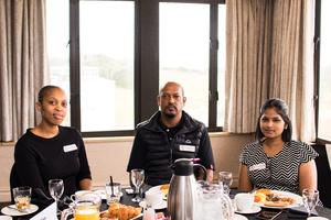 Sam Mngomezulu, Kuben Naidoo, Prinisha Nayager (The Pavilion)