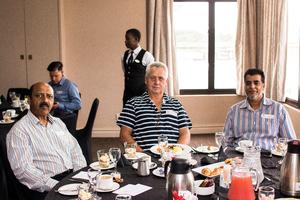 Tony Pillay, Theo Coetze, Amod Khan (Trafalgar Property Management),