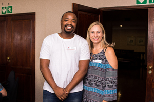 Andile Gono, Audrey Redman (Mr Price Group)