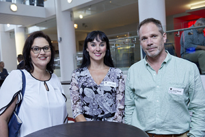 Mazel Matthews(Growthpoint Properties), Liezel Conradie(CW Excellerate), Stuart Wragg (Securitas)