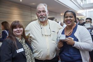 Ingrid Milne(C W Excellerate), Tony van Heerden(Optimal Property Administrators), Mellisa Human(Woolworths)