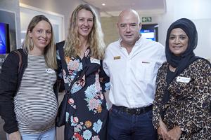 Mikaela Lister(Cotton On), Gayle Momsen(Queenspark), Ross Bannatyne(Spar Group), Faizah Behardien(CW Excellerate)