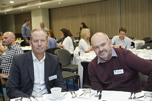Maurice de Villiers(Woolworths), Andre Wiid (MDSA Project management)