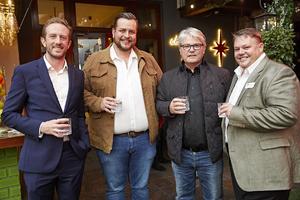 Jonathan Middleton (Schick SA), Anton Neveling ( Hub Parking), Adrian Holmes, Barney Beukes (Hub Parking)