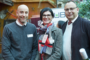 Ofer Hollinger (Cochrane Global), Renee English(Growthpoint Properties), Wessel Theron (Cochrane Global)