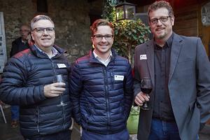 Francois de Villiers , Russell Gaynor(Pepkor Properties), Matt Gervais  (Prime Wetrok)