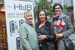 Yvonne Vivian, Carlyn Hannie (The Blue Room), Renee English (Growthpoint Properties)