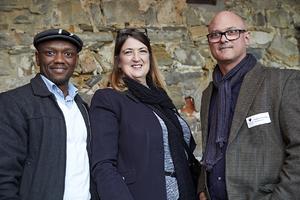 Godfrey Mokaeane, Henje Boudry(Boudry Architects), Graham Brookman (GVK Siya Zama)