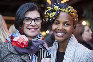 Renee English(Growthpoint Properties), Amanda Dilima(V & A Waterfront)
