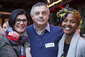 Renee English(Growthpoint Properties), Harry Wertheim( Audiolens & Digilens), Amanda Dilima(V & A Waterfront)