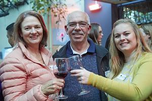 Christel Van Noordwyk(  Montagu Snacks), Alex Van Noordwyk (Gibbs Electrical), Adéle Schultz (The Blue Room)