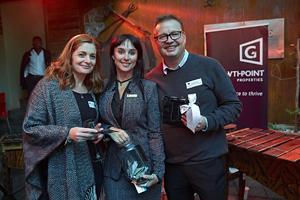Wendy Mostert( Bidvest Prestige Cleaning), Liezel Conradie (Excellerate/JHI), Gavin Jones(Growthpoint Properties)
