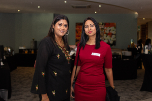 Pria Bhagwandin (Excellerate JHI) & Andeline Singh (Broll)