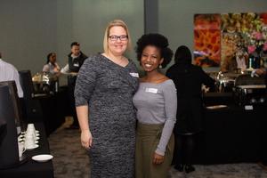 Samantha Haarhoff & Tricia Nxumalo (Broll)