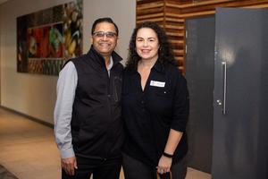 Umesh Haribhai(The Pavilion) & Nicole Zeiler(Excellerate JHI)