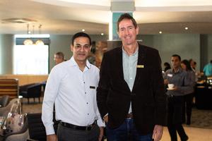 Akash Maharaj & Peter Tillard(Excellerate JHI)