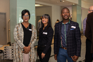 Sophia Naidoo, Vidhaata Ramsay (Excellerate JHI) & Philani Sidinile (Sizovuna Investments)