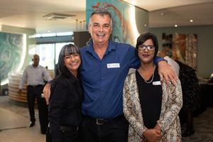 Vidhaata Ramsay(Excellerate JHI), Kelvin Walker (Thorpe and Hands Inc)& Sophia Naidoo (Excellerate JHI)
