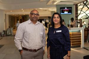 Vernon Pillay & Nalini Reddi (Nedbank)